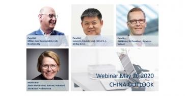 China Outlook Webinar in Helsinki